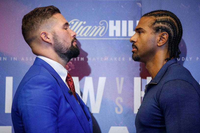 Tony Bellew i David Haye /AFP