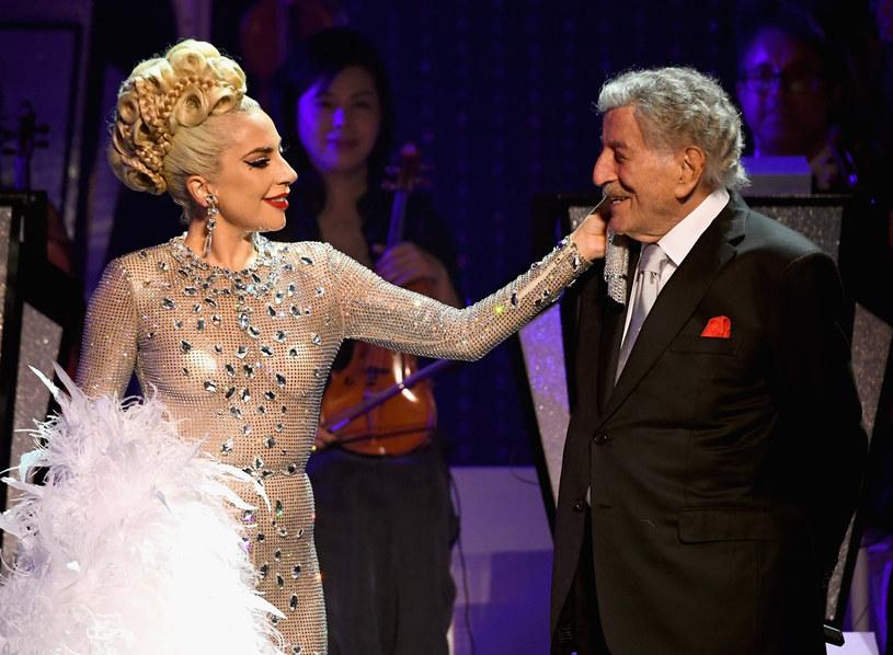 Tony Bennett i Lady Gaga /Kevin Mazur /Getty Images