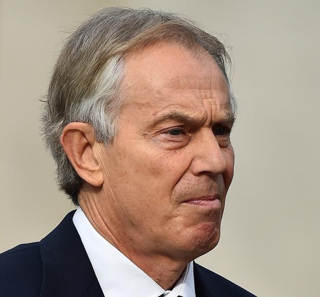 Tony Blair, b. premier Wielkiej Brytanii /AFP