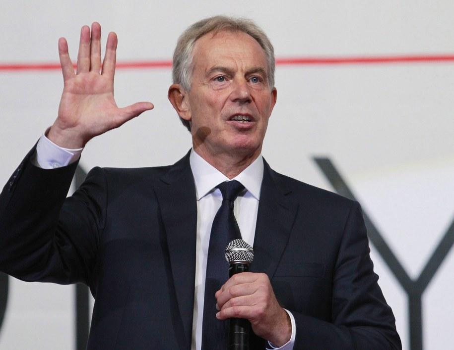Tony Blair /JOSE MENDEZ /PAP/EPA