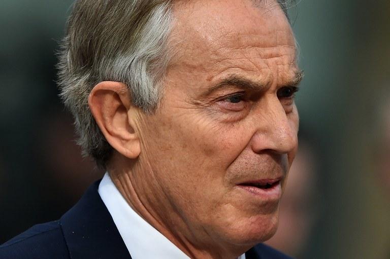 Tony Blair /AFP