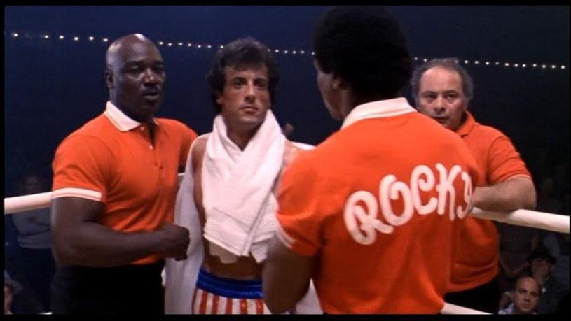 """Tony Burton w Sylvester Stallone w filmie z serii """"Rocky"""" /materiały prasowe"""