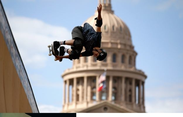 Tony Hawk /AFP