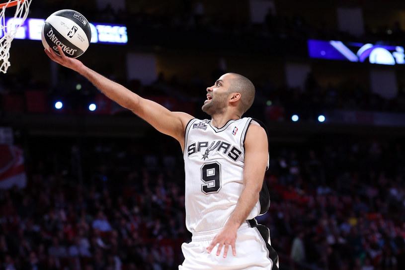 Tony Parker, koszykarz San Antonio Spurs /AFP