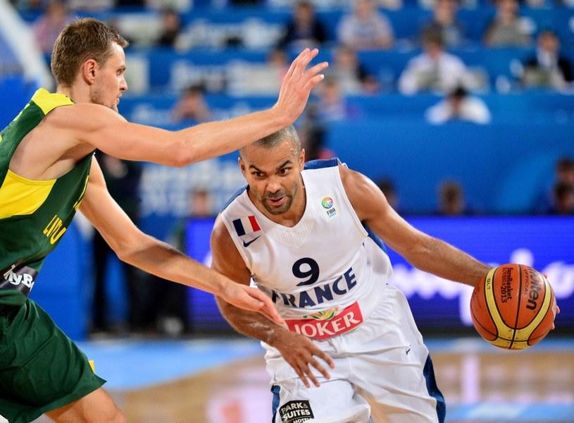 Tony Parker - największa gwiazda francuskiej koszykówki /AFP