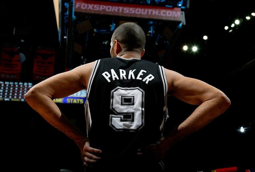Tony Parker z San Antonio Spurs /AFP
