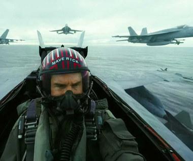 """""""Top Gun Maverick"""": Tylko Tom Cruise nie wymiotował"""