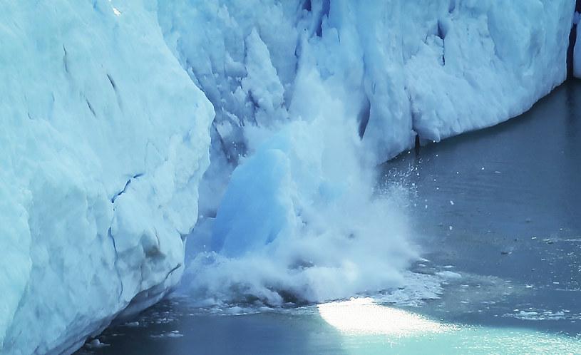 Topnienie lodu z lodowca Thwaites na Antarktydzie Zachodniej odpowiada obecnie za około cztery proc. globalnego wzrostu poziomu mórz /Getty Images South America/ Mario Tama / Staff /Getty Images