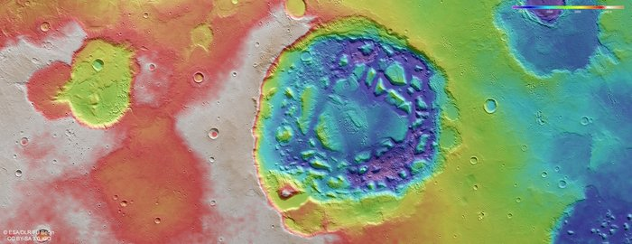 Topograficzny widok Ismenia Patera /materiały prasowe
