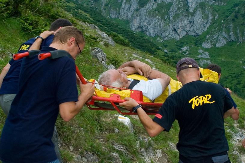 TOPR zmuszony jest do pracy na pełnych obrotach... /Jozefowicz/Reporter /East News
