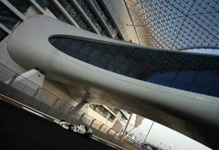 Tor Yas Marina zaskakuje architekturą /AFP
