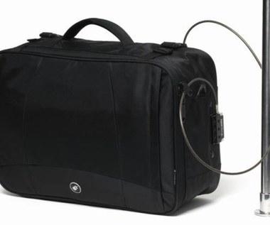Torby uniemożliwiające kradzież notebooka