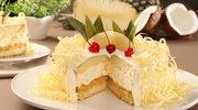 Torcik ananasowy