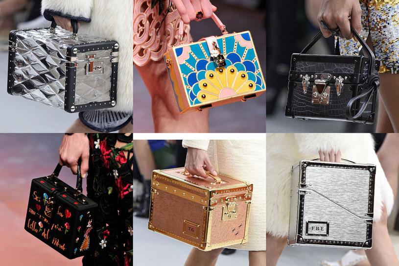 Torebka w kształcie kuferka to ostatni krzyk mody /East News/ Zeppelin