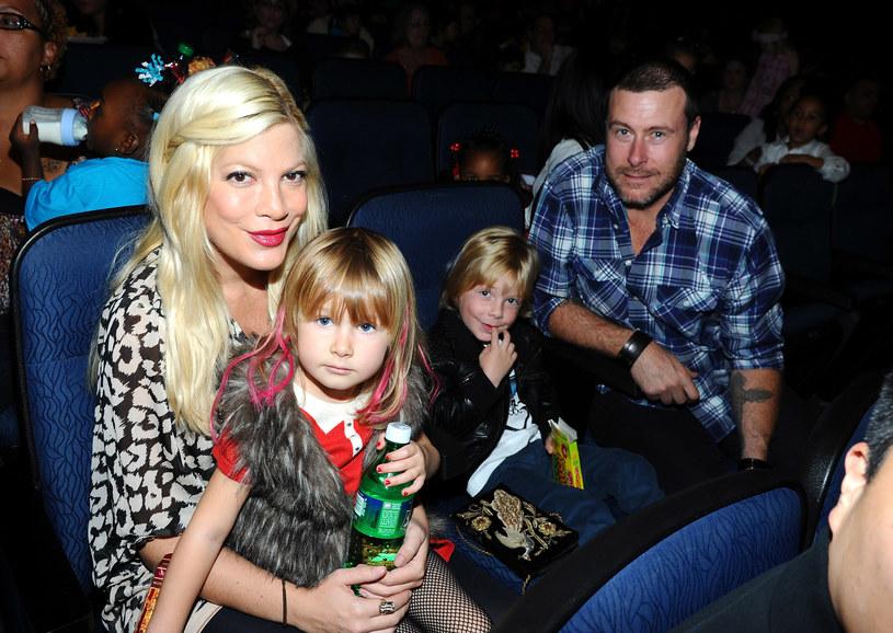 Tori, Dean i dzieci /- /Getty Images