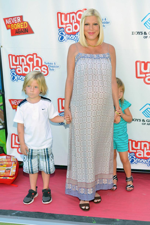 Tori Spelling jest mamą czwórki dzieci /Alberto E. Rodriguez /Getty Images