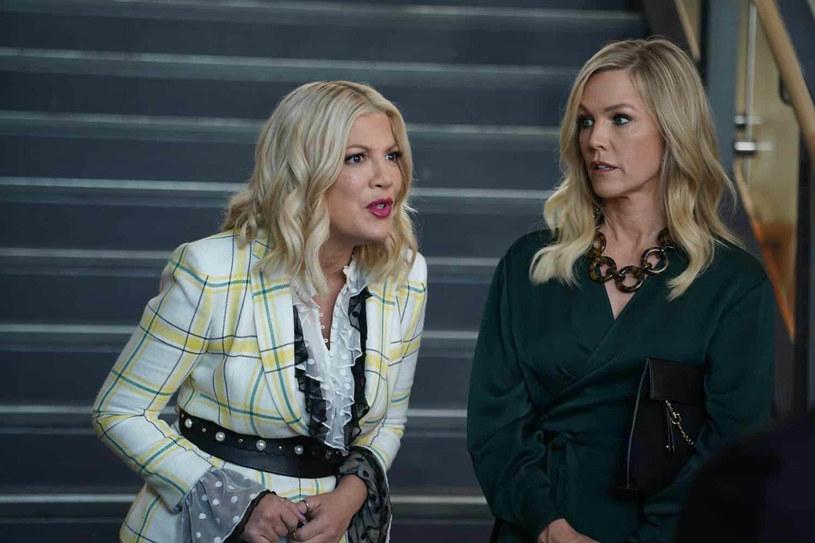 """Tori Spelling przyjaźni się z innymi aktorami z serialu """"Beverly Hills, 90210"""" /FOX /Agencja FORUM"""