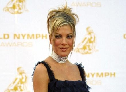 """Tori Spelling stwierdziła, że za TAKIE pieniądze nie wystąpi w nowej serii  """"Beverly Hills 90210"""" /AFP"""