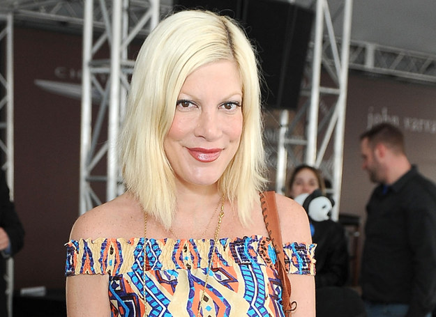 Tori Spelling /Getty Images
