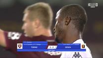 Torino FC - Genoa CFC 3-2. Serie A. 9kolejka. SKRÓT (Eleven Sports)