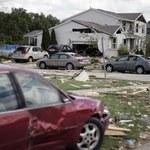 Tornada i burze w USA, wiele ofiar śmiertelnych