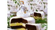 Tort czekoladowy z chałwą