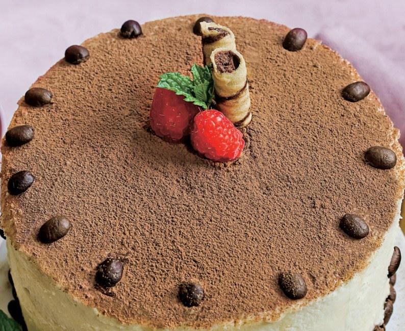 Tort kawowy /Tina