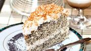 Tort makowo-budyniowy