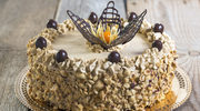 Tort makowo-kawowy z mascarpone