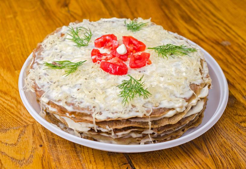 Tort naleśnikowy /123RF/PICSEL