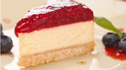Tort serowo - malinowy