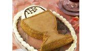 Tort śmietanowy z kawą