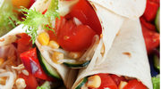 Tortilla z pomidorami