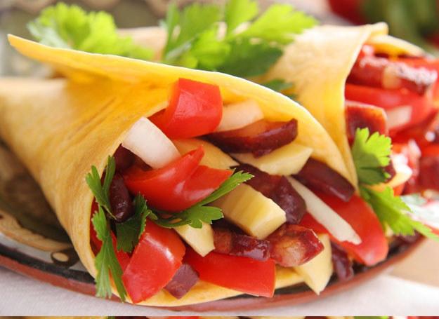 Tortilla z warzywami /© Panthermedia
