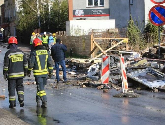 Toruń: Miejsce tragedii /Sławomir Kowalski /Gazeta Pomorska