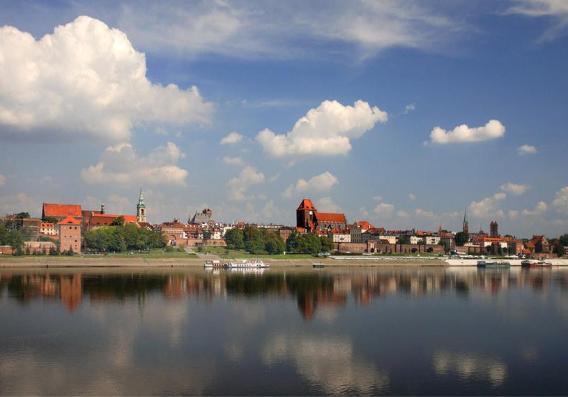 Toruń. Panorama miasta /Jan Morek /Agencja FORUM