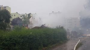 Toruń: Wybuch w domu jednorodzinnym. Trwa przeszukiwanie gruzowiska