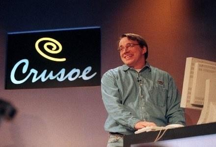 Torvalds jest zadowolony ze swojego dysku /AFP