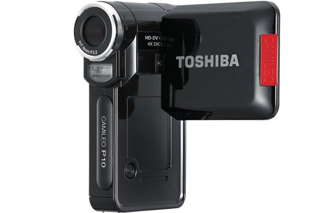Toshiba Camileo P10 - najpopularniejsza kamera w zestawieniu Komputronik.pl /materiały prasowe