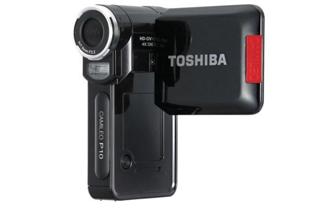 Toshiba Camileo P10 /materiały prasowe