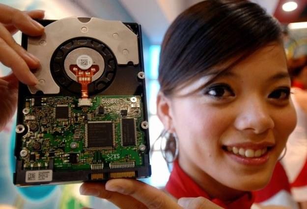 Toshiba ma nadzieję, że pierwsze dyski z technologią BPR trafią do sklepów w 2013 roku /AFP