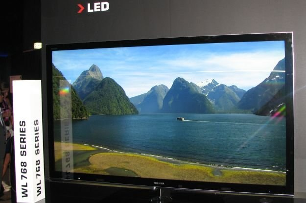 Toshiba stawia na telewizory LCD oraz LCD LED. Także modele 3D /INTERIA.PL