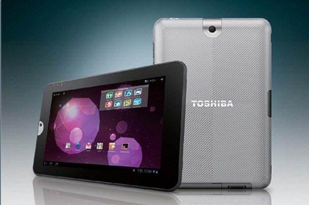 Toshiba - także chciałaby tableta, ale na razie jej to nie wychodzi /materiały prasowe