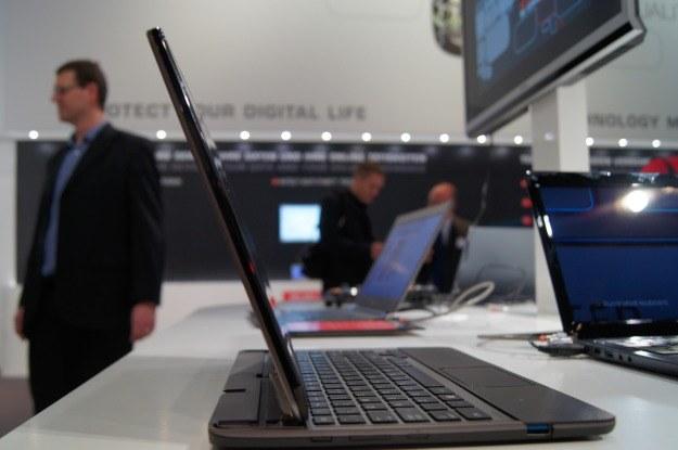 Toshiba U920t  - poczekamy na niego do październikowej premiery Windows 8 /INTERIA.PL