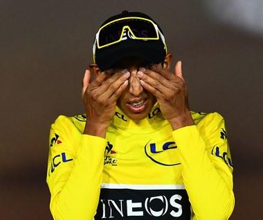 Tour de France. Światowe media pełne podziwu dla wyczynu Egana Bernala