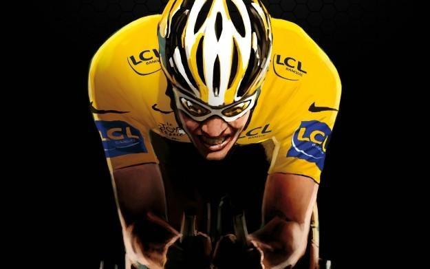 Tour de France - The Official Game - motyw graficzny /Informacja prasowa