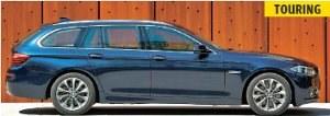 Touring to tradycyjna nazwa dla kombi w BMW. Seria 5 kombi nie sprzedaje się tak dobrze jak sedan. Wszystko przez auta z serii X. /Motor