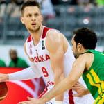 Towarzyski mecz koszykarzy. Polska – Brazylia 79:85