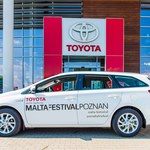 Toyota Auris Hybrid dla organizatorów Malta Festival Poznań