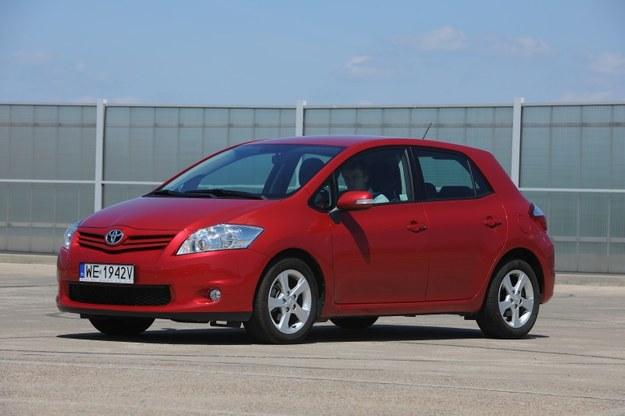 Toyota Auris I zastąpiła w 2007 roku Corollę w wersji hatchback. /Motor